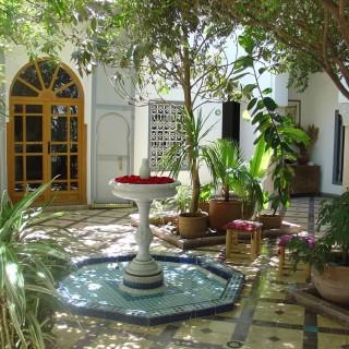 Yoga Retreat Marrakesch Riad Hotel7