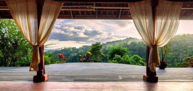 Costa Rica Regenwald Blick