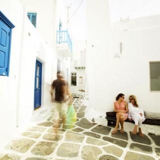 Yoga Retreat Mykonos Street1