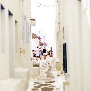 Yoga Retreat Mykonos Street2