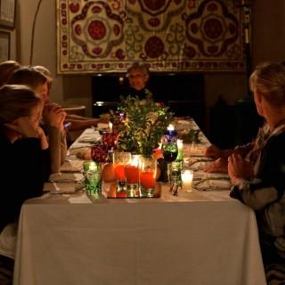 Jiva/Anand Yoga Retreat Marrakesch Dinner