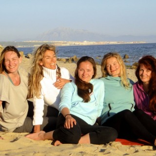 Jiva/Anand Yoga Retreat Tarifa Abends am Meer