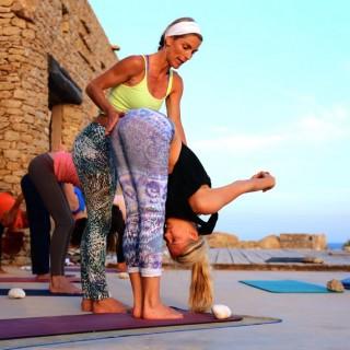 Yoga Retreat Mykonos Yoga Practice1