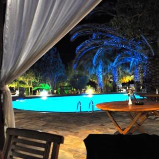 Yoga Retreat Mykonos Late Night Pool