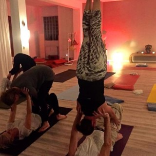 Yoga München / JIVA/ANANDYOGA SHALA MAXVORSTADT / Partner Yoga Workshop