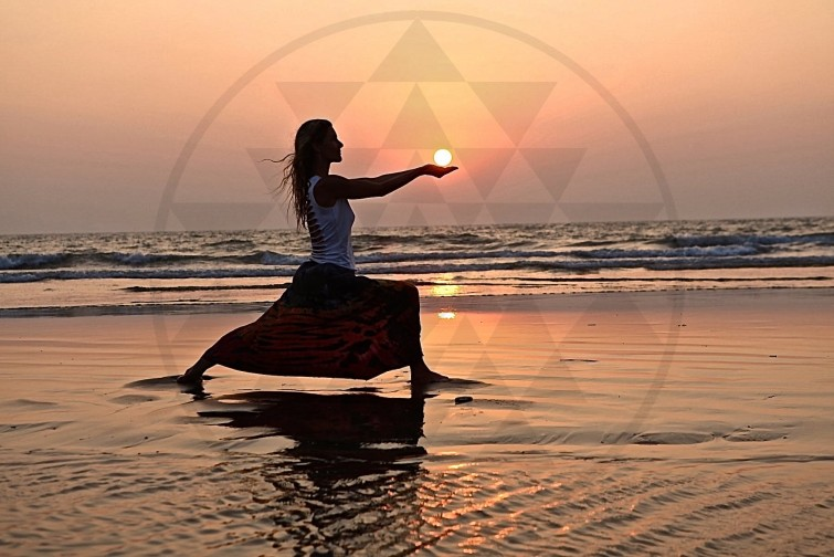 Yoga München Sunset Yantra