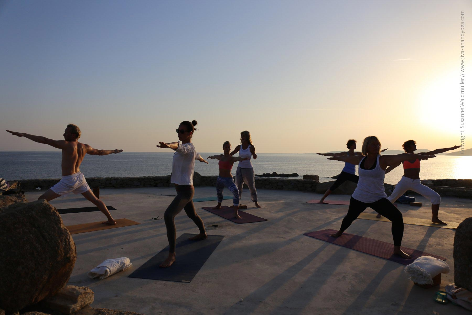 Yoga München Retreat Mykonos