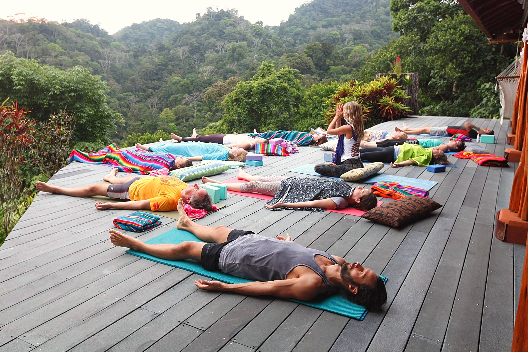 Yoga Retreat Costa Rica Yogaunterricht