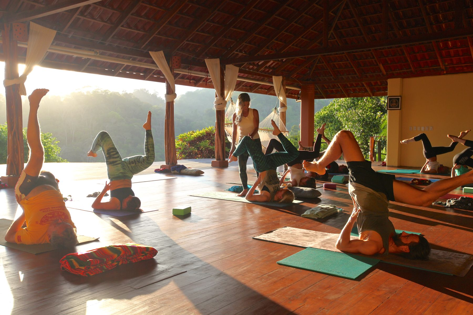 Retreat Costa Rica Yogaunterricht