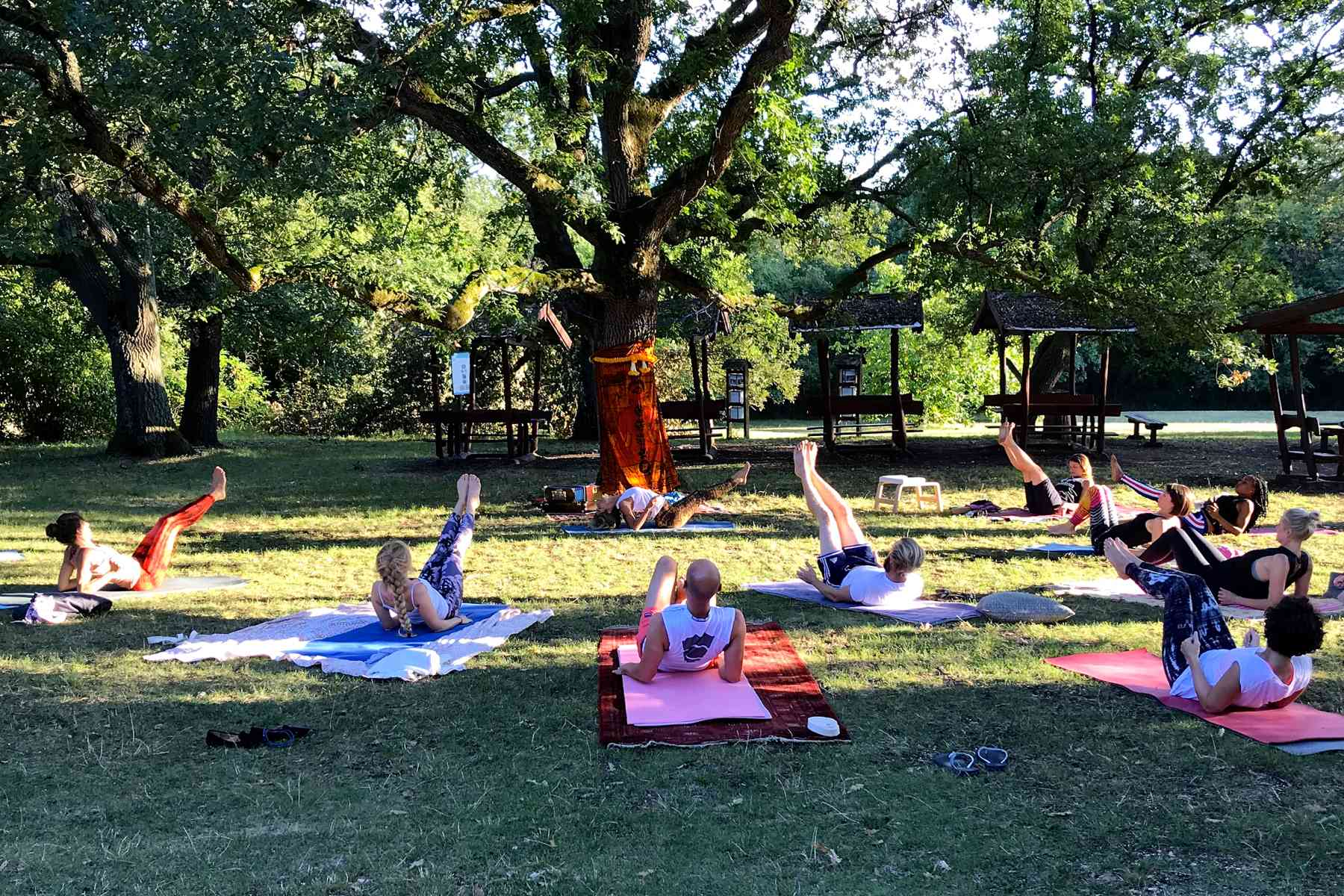 Yoga Retreat Ungarn Evening Class
