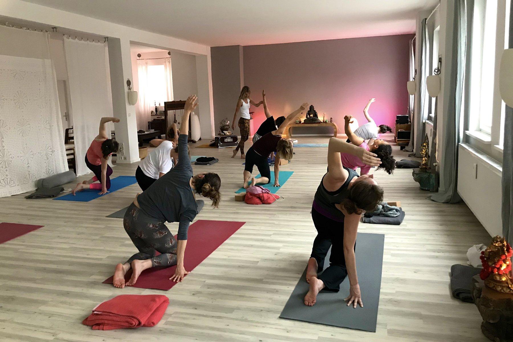 Yoga München Yogastunde